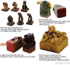 Korean traditional signature stamps