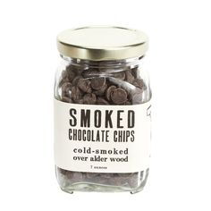 Smoked Chocolate Chips | Cold-Smoked over Alder Wood