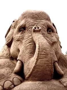 Sandcastles The sand elephant at the sandcastle in Lappeenranta, Finland @Annika Vogt Vogt Hjort #30daysofcreativity