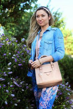 look do dia, easy day, casual look, ootd, outfit, alentejo, cores pastel, pastel colors, denim shirt, camisa de ganga, primavera verão 2014,...