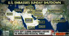 U.S. Embassies to close due to al-Qa'ida threat, same group to receive U.S. Military Aid in Syria  8/2/13