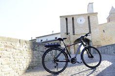 Nueva bicicleta electrica de #Adriatica, modelo E1 Steps de barra alta. Motor central con la nueva tecnología de Shimano Steps. #avantumbikes