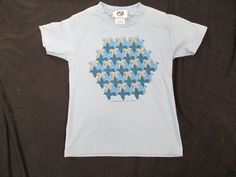 """M.C. Escher Youth T-shirt Size Small  """"3-Birds""""  """"Old Stock - Never Worn!"""