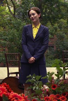 Blair Waldorf Fashion: 1x03 Poison Ivy --Too Uptight