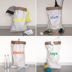 DIY inspitarion: The paper bag colors