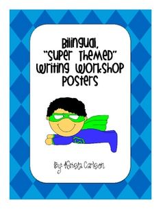Bilingual writing Process posters