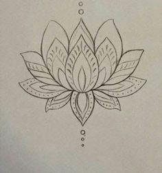 lotus zentangle doodle line drawing Lotusblume Tattoo, Tatoo Henna, Henna Art, Piercing Tattoo, Tattoo Drawings, Sternum Tattoo, Piercings, Flower Drawings, Tattoo Shop