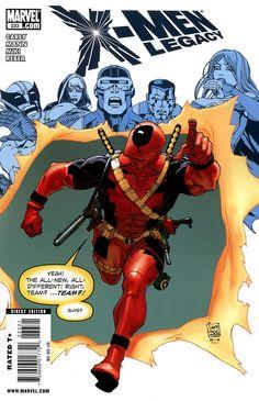X-Men Legacy Vol. 1 233 Deadpool Variant