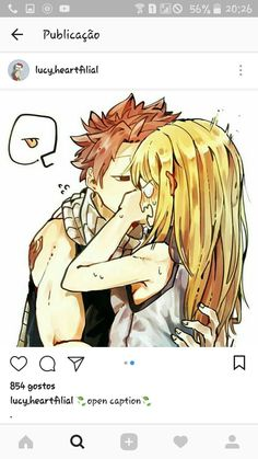 Trying new food now, are you Natsu?