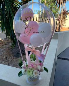 Balloon Gifts, Surprise Boxes & Decor for all occassions – Balloonit Birthday Balloon Decorations, Hawaiian Party Decorations, Happy Birthday Balloons, Graduation Decorations, Diy Party Decorations, Happy Birthday Video, Balloon Arrangements, Balloon Gift, Diy Crafts For Gifts