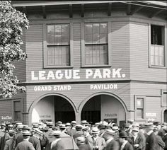 League Park - GRAND STAND (75 cents), PAVILION (50 cents), and a hat on every head Cleveland Baseball, Baseball Park, Indians Baseball, Cleveland Rocks, Cleveland Ohio, Cleveland Indians, Cincinnati, Ohio Image, Sports Stadium