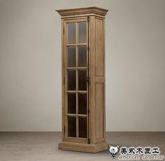 http://g01.a.alicdn.com/kf/HTB1UDtlJXXXXXaOXVXXq6xXFXXXX/Single-door-oak-bookcase-American-country-European-solid-wood-bookcases-cabinet-study-single-door-glass-cabinet.jpg