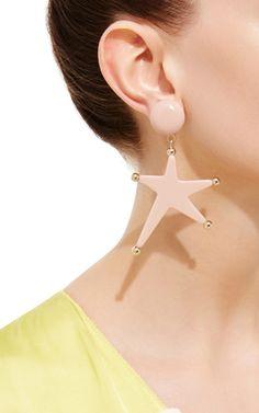 Star Pendant Earrings by Marni | Moda Operandi