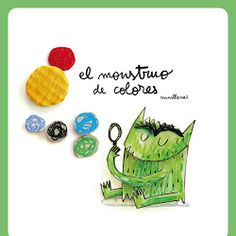 The Colour Monster by Anna Llenas is a great book to introduce children to basic colours and the relationship between colour & emotions. Teaching Posters, Teaching Art, Teaching English, Teaching Ideas, Teaching Resources, Colors And Emotions, My Emotions, Feelings, Monster Book Of Monsters