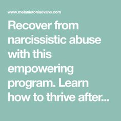 Effects of ignoring a narcissist