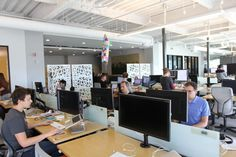 Slack's fourth venture capital investment to date, Automat's communication technology mixes messaging, artificial intelligence and chatbots. Investment Firms, Investment Property, The Office, Office Decor, Office Ideas, Le Social, Social Media, Software, Financial Assistance