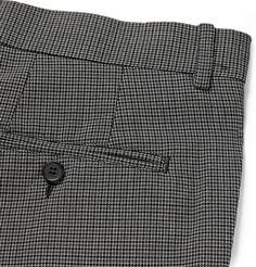 Marni - Slim-Fit Micro-Check Cotton Trousers   MR PORTER