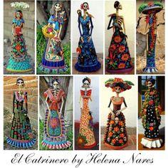 """El Catrinero by Helena Nares"" by azurafae on Polyvore"