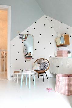 125 Einrichtungsideen Für Ein Schönes Mädchenzimmer! Kinderzimmerwand  GestaltenKinderzimmer ...