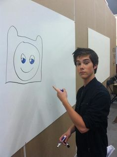 Jeremy Shada - He plays Finn on Adventure Time!