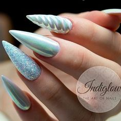 Billedresultat for unicorn nails