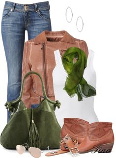 """Green Bag Contest"" by martina-16 ❤ liked on Polyvore"