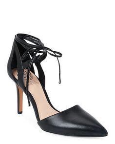 Black Bellamy Pointed Toe High Heel Pumps
