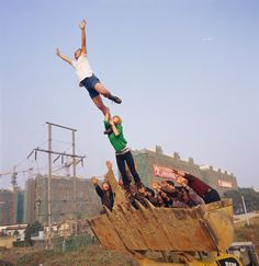 On the Surface on the Earth, 2002 by Li Wei at Galerie Richard.