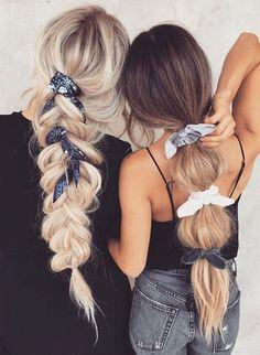 Easy Fall Frisuren, Hair Trends - New Site - - Easy Fall Frisuren, Hair Trends – New Site headband/hairband Einfache Herbstfrisuren, Haartrends – – Scarf Hairstyles, Braided Hairstyles, Cool Hairstyles, Fashion Hairstyles, Bandana Hairstyles For Long Hair, Summer Hairstyles, Hairstyles 2018, Latest Hairstyles, Scrunchy Hairstyles