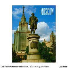 Lomonosov Moscow State University Architecture Postcard University Architecture, State University, Keep It Cleaner, Moscow, Statue Of Liberty, Cards, Travel, Statue Of Liberty Facts, Viajes