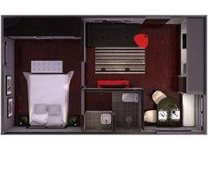 Recopilación de planos de casa pequeñas (mis minipisos)   Decoración