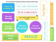 Kindness Activity for Kids - make kindness cards and pass to friends and family.