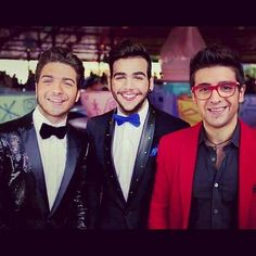 Gianluca, Ignazio & Piero, they're just so darn pretty!