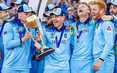Cricket Games, Cricket News, Eoin Morgan, England Cricket Team, Workout Gear For Women, World Cup Champions, Bra Video, Cricket World Cup, Senior Home Care