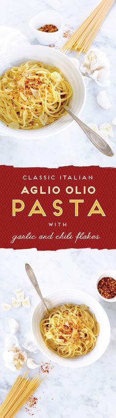 A super classic! // Spaghetti all 'Aglio, Olio e Peperoncino