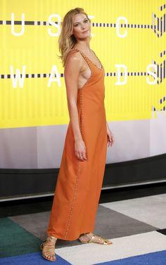 Karlie Kloss at the 2015 MTV Video Music Awards in LA.