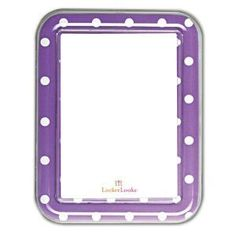 Purple Locker Decorations