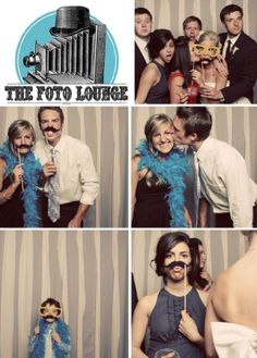 Photo Booth Wedding Ideas #mjbridalsalon