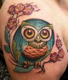 @Crystal- such a cute  owl tattoo