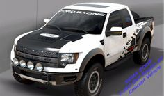 "Ford high performance SVT off-road factory equipped ""Raptors"""