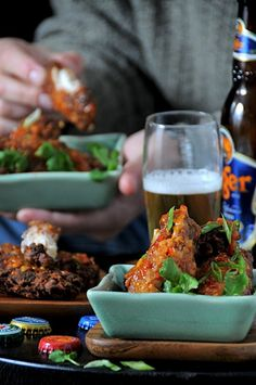 Super crisy Asian Chicken Wings with Spicy Sweet Chili Sauce Recipe