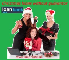 Loan Bank is an online broker you can trust. We provide quick guidance on short term loans to the people who don't have guarantor available.We help the borrowers in bringing financial stability through relevant deals on Christmas loans without guarantor. To know more, visit: www.loan-bank.uk/christmas-loans.html #loans #money