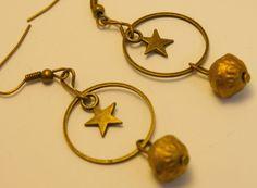 boucles d'oreilles étoiles monochrome