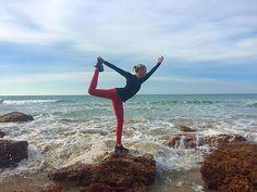 Fear is only as deep as the mind allows  : @sasswilcox #yoga #beachyoga #dancers #natarajasana #yogi #yogaeverydamnday #yogateacher #yogaeverywhere #iloveyoga #asana #beach #greatoceanroad #anglesea #melbournelovesyoga by yogiilonglegs