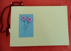 quaderno quilling carta / notebook paper quilling