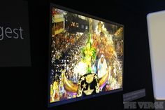 Gallery Photo: More hands-on photos with the Sony 4K OLED TV