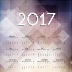 Free Vector Happy New Year  Abstract Calendar Template Http
