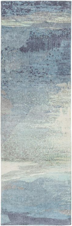 Our Felicity collection is composed of subtle watercolor inspired designs. These soft rugs are a great value and are sure to brighten any room in your home. - Color: Slate, Sky Blue, Navy - Material: