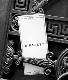 La Palette  La Palette doesn't date back as far as the Impressionist era, it has been a local haunt for generations of art students since the turn of the century.