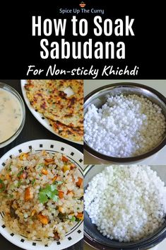 Learn how to make perfect sabudana khichdi recipe for Indian Hindu fast or Navratri vrat This can be served as a breakfast or snack since this can be considered healthy food Other than tapioca pearls it has potatoes crushed peanuts green chilies dr Veg Recipes, Kitchen Recipes, Cooking Recipes, Healthy Recipes, Healthy Food, Snack Recipes, Salmon Recipes, Recipies, Navratri Recipes